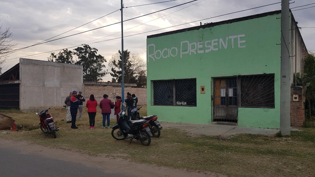 Desmantelan la casa Santa Rita a casi un mes del femicidio de Rocío Vera