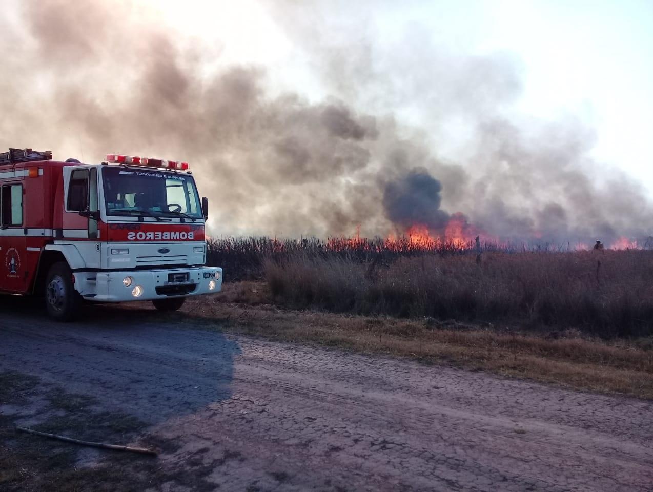 Informe especial por los incendios de campos e islas en el norte santafesino