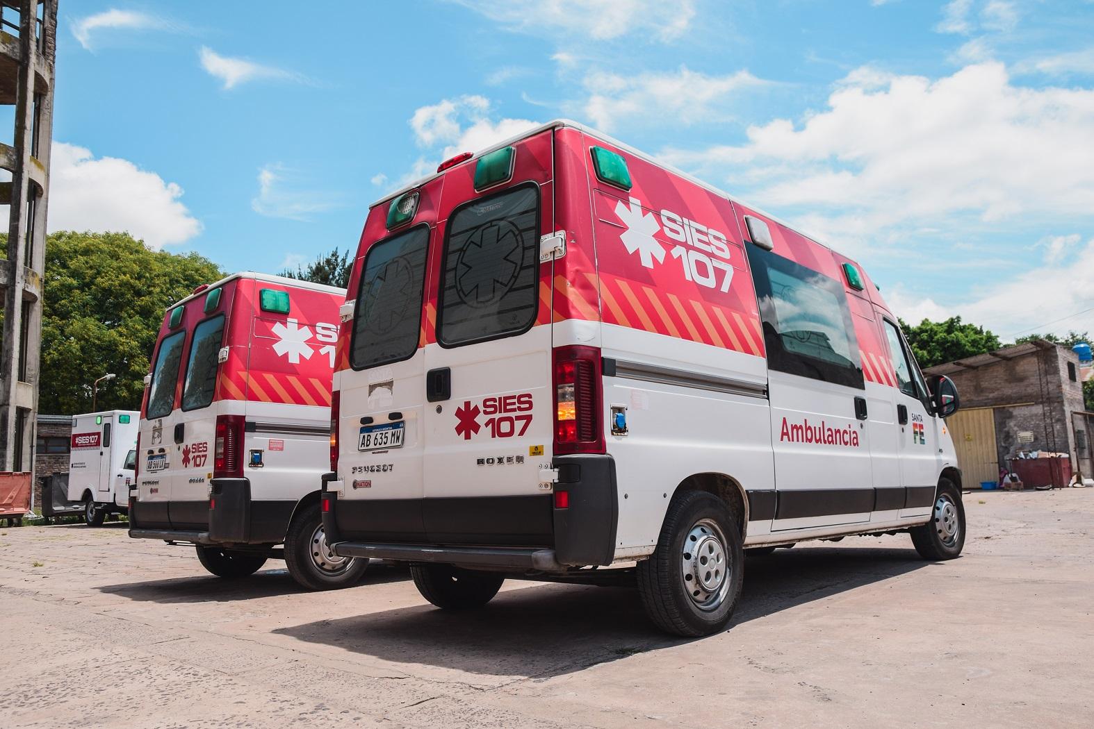 Preocupa el estado y la falta de ambulancias en el 107
